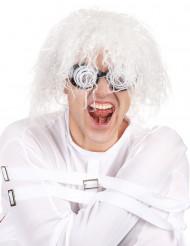 Zepter für Magier Kostümzubehör grau-weiss 122cm Cod.236526