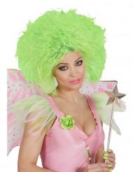Fee Kurzhaar-Perücke neon grün