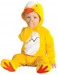 Huhn Babykostüm gelb-weiss-rot