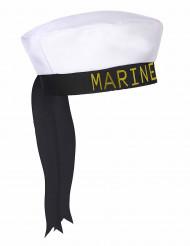Matrosen-Mütze blau-weiss