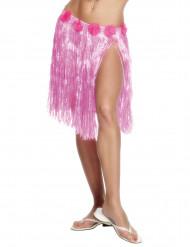 Hawaiiröckchen Kostüm-Accessoire rosa