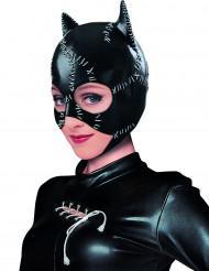 Catwoman-Erwachsenenmaske Batman schwarz