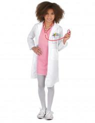Kinder Jungen Mädchen Arztkittel Laborkittel Arzt Halloween Karneval Kostüm