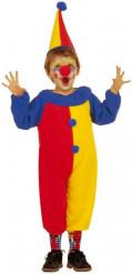 Clown Kinderkostüm Zirkus bunt