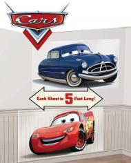 Disney Cars Lightning McQueen und Doc Hudson Wanddeko bunt 120x700cm