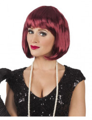 Perücke Cabaret in Braun für Damen