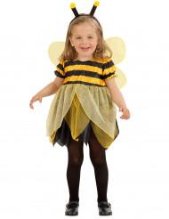 Biene Kinderkostüm Bienchen schwarz-gelb