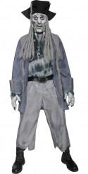 Zombie Geisterpirat Halloween Kostüm grau