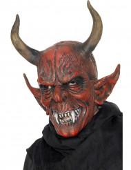 Teuflische Dämonen-Maske rot