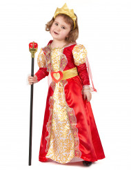 Königinnen-Verkleidung für Mädchen