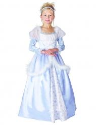 Bezaubernde Prinzessin Kinderkostüm blau