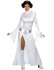 Sexy Prinzessin Leia Damenkostüm Lizenzware weiss