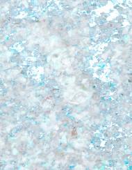 Glitzer-Schneeflocken Winterdeko weiss-blau 40g