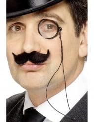 Monokel Einglas schwarz