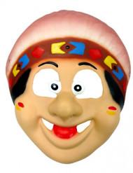 Indianer-Maske Kinder bunt