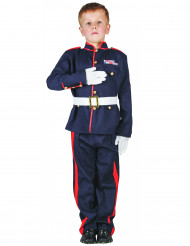Soldat Kinder-Kostüm blau-rot