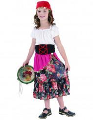 Süßes Zigeunermädchen Kinderkostüm