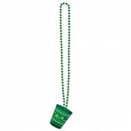 St. Patrick´s Day Halskette mit Schnapsglas