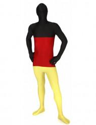 Morphsuit Deutschland Ganzkörperanzug Fanartikel schwarz-rot-gelb