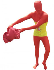 Morphsuit Spanien Fanartikel gelb-rot