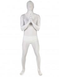 Morphsuit Ganzkörperanzug Kostüm weiss