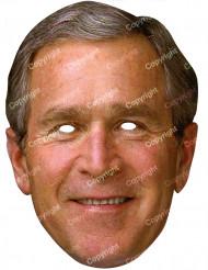 Maske George Bush natur