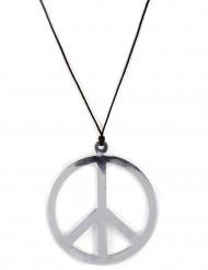 Hippie Kette Peace Kette silber