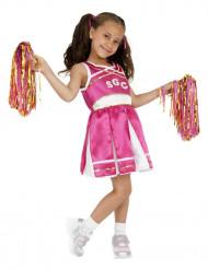 Cheerleader Kinderkostüm pink-weiss