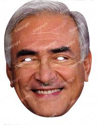 Dominique Strauss-Kahn Maske Pappkarton Politikermaske