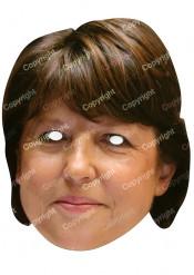 Martine Aubry Maske für Erwachsene
