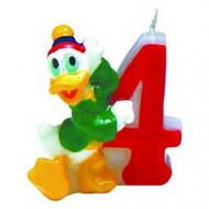 Disney™ Mickey Mouse Clubhouse™ Tortenkerze Zahl 4 Lizenzware