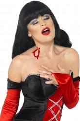 Make-Up Schminke Vampirbiss rot