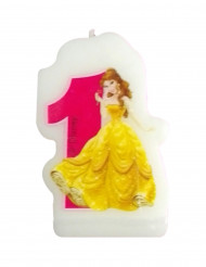 Disney™ Princesses™ Kerze Zahl 1 Lizenzware