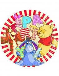 Teller Winnie the Pooh Alphabet™ 8 Stück bunt 23cm
