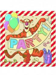 20 Papierservietten Winnie the Pooh Alphabet™ bunt