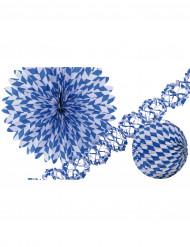 Bayern-Accessoires blau-weiß