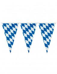 Wimpelkette Bayern Party-Deko blau-weiss 400x26cm
