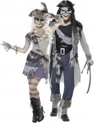 Halloween Piraten-Phantom Paarkostüm