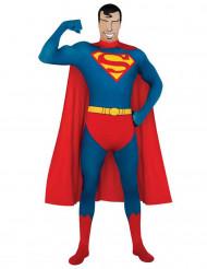 Superman™Second Skin Ganzkörperanzug Lizenzware blau-rot
