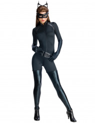 The Dark Knight Rises Catwoman Damenkostüm Lizenzware schwarz