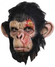 Seuchen-Affe Maske Labor-Schimpanse schwarz-braun