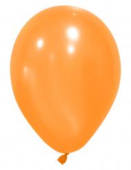 Party-Ballons Luftballons 12 Stück orange 28cm