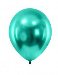 Party Zubehör Deko Luftballons 12 Stück hellgrün 28 cm