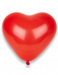 Valentinstag Dekoration Herz Luftballons 10 Stück rot 33 x 36 cm