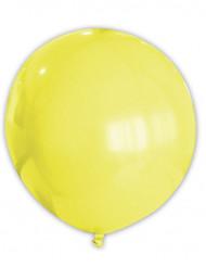 Riesen Party Dekoration XXL Luftballon gelb 80 cm