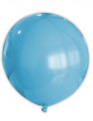 Riesen Party Dekoration XXL Luftballon hellblau 80 cm