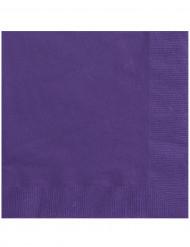 Party-Servietten Papierservietten 20 Stück lila 33x33cm