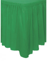 Party Tischrock grün 74x36cm