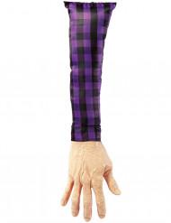 Arm Schreckartikel Halloween Deko bunt 50cm