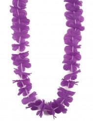 Hawaii-Kette Blütenkette lila